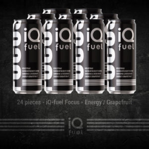 24 pieces - iQ-fuel Focus - Energy / Grapefruit