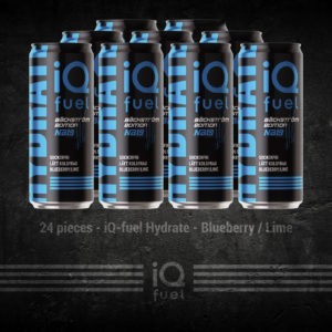 24 pieces - iQ-fuel Hydrate - Blueberry / Lime